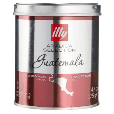 Кофе Арабика Гватемала 100% молотый 125г, Illy