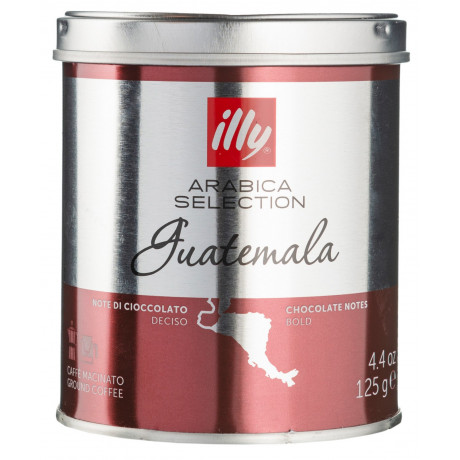 Кофе Арабика Гватемала 100% молотый 125г, Illy - 86606