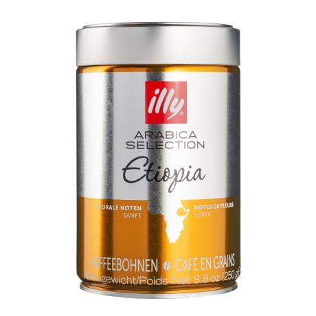 Кофе Арабика Эфиопия 100% в зернах 250г, Illy - 70067