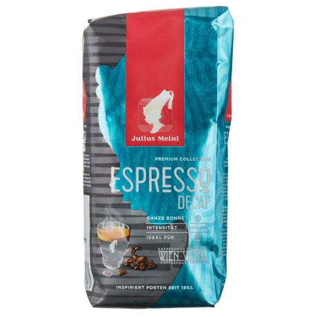 Кофе зерновой без кофеина Espresso Decaf Premium Collection 250г, Julius Meinl - 88850