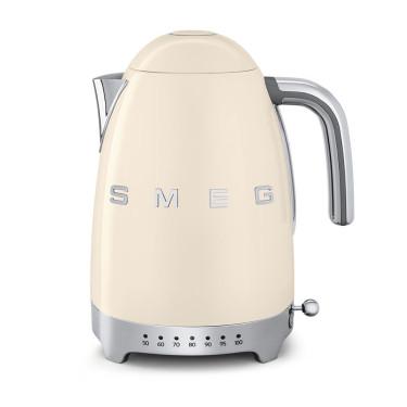 Электрочайник с регулятором температуры кремовый, SMEG