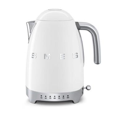 Электрочайник с регулятором температуры белый, SMEG