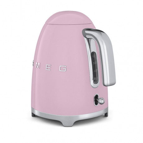Электрочайник розовый, SMEG - 78123