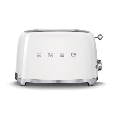 Тостер на 2 тоста белый, SMEG - 78118