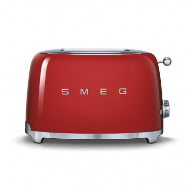 Тостер на 2 тоста красный, SMEG - 70266