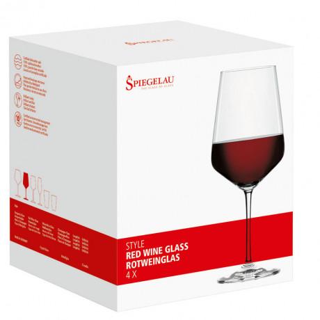 Набор бокалов для красного вина 0,630л (4 шт в уп) Style, Spiegelau - 21501