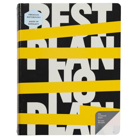 Блокнот Best Plan — No Plan, Nuuna - 50561