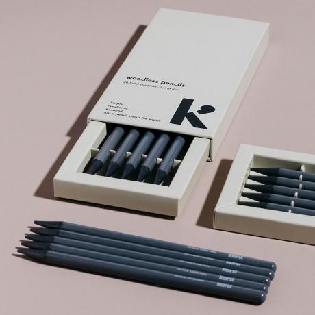 Карандаш серый (5шт в уп), Karst - 47289